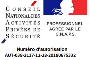 CNAPS numéro autorisation ARMA