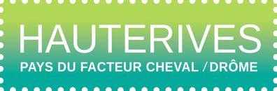 Logo de la commune de Hauterives, cité du palais du facteur Cheval